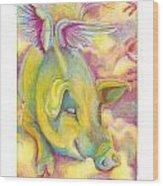 Charlie's Angel Wood Print