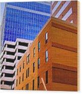 Charlotte Abstract Wood Print