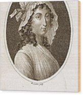 Charlotte Corday Wood Print