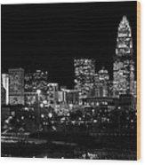 Charlotte Night V2 Wood Print