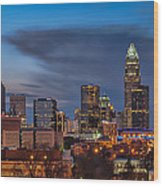 Charlotte North Carolina Wood Print by Brian Young