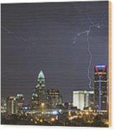 Charlotte's Storm Wood Print