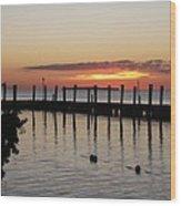 Charming Eveninglight Over Key Largo Wood Print
