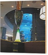 Chart House Restaurant Las Vegas Wood Print
