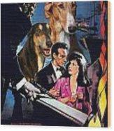 Chart Polski Art - Woman Of Straw Movie Poster  Wood Print
