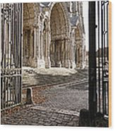 Chartres Cathedral North Transept Wood Print