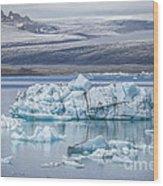 Chasing Ice Wood Print