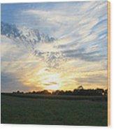 Chasing Sunsets Wood Print