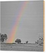 Chasing The Pot Of Gold Bwsc Wood Print