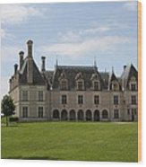 Chateau Beauregard Loire Valley Wood Print