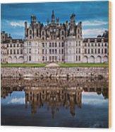 Chateau Chambord Wood Print