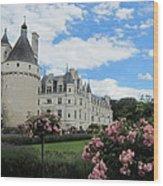 Chateau Chenonceau Wood Print