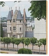 Chateau D'angers - Chatelet View Wood Print