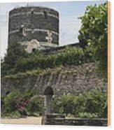 Chateau D'angers Tower Wood Print