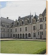 Chateau De Beauregard Loire Valley Wood Print