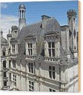 Chateau De Chambord Wood Print