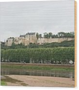 Chateau De Chinon - France Wood Print