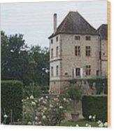 Chateau De Cormatin - Burgundy Wood Print