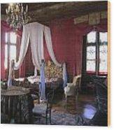 Chateau De Cormatin Wood Print