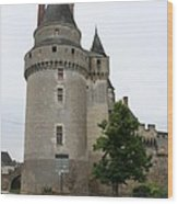 Chateau De Langeais Tower Wood Print