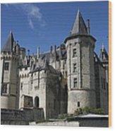 Chateau De Saumur Wood Print
