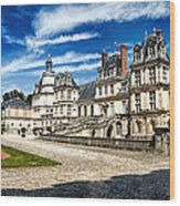 Chateau Fontainebleau - France Wood Print