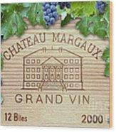 Chateau Margaux Wood Print