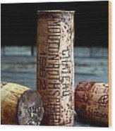 Chateau Mouton Rothschild Cork Wood Print