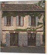 Chateau No 1 Rue Moulins France Wood Print