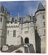 Chateau Saumur  Wood Print