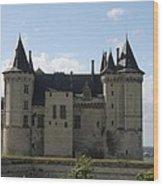 Chateau Saumur - France Wood Print