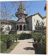 Chateau St. Jean Winery 5d22202 Wood Print by Wingsdomain Art and Photography