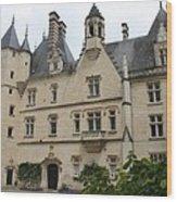 Chateau Usse Wood Print