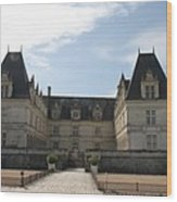 Chateau Villandry Wood Print