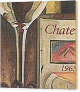 Chateux 1965 Wood Print by Debbie DeWitt