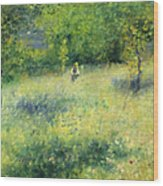 Chatou After Renoir Wood Print
