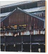 Chattanooga Pipe And Whetland Warehouse 12 Wood Print