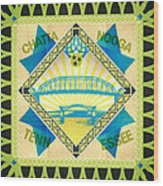 Chattanooga Quilt Square 1 Wood Print