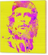 Che Guevara 2a Wood Print