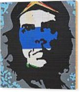 Che Guevara Picture Wood Print