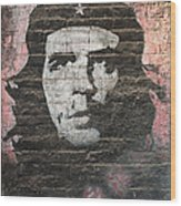 Che Guevara Wall Art In China Wood Print