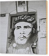 Che The Revolutionary Wood Print