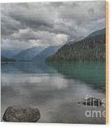 Cheakamus Lake Reflections Wood Print