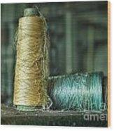Cheap Threads Wood Print