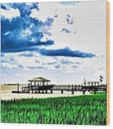 Chechessee River Style Wood Print