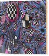 Checker Wood Print