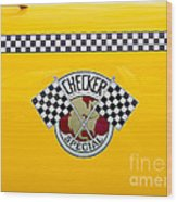 Checker Special Wood Print