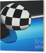 Checkered Finish Wood Print