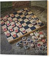 Checkers Wood Print