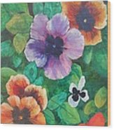 Cheerful # 050 Wood Print
